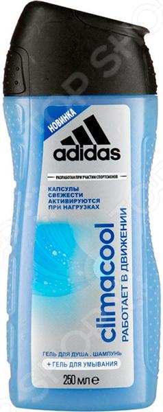 Шампунь и гель для душа Adidas Climacool