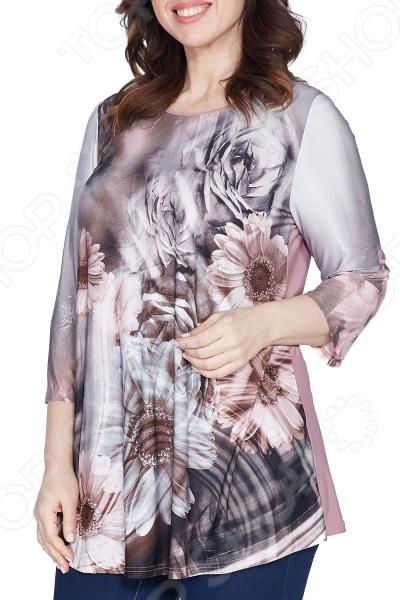 Блуза Лауме-Лайн «Яркое воспоминание». Цвет: серый