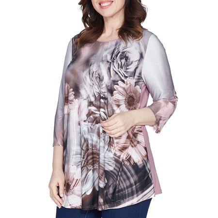 Купить Блуза Лауме-Лайн «Яркое воспоминание». Цвет: серый