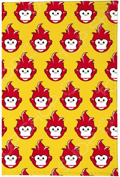 Обложка для паспорта Mitya Veselkov «Много огненных обезьян» винцесь мудров страна огненных птиц