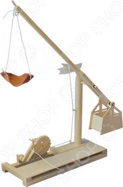 Конструктор деревянный Bradex «Катапульта. Леонардо Да Винчи» Конструктор деревянный Bradex «Катапульта. Леонардо Да Винчи» /