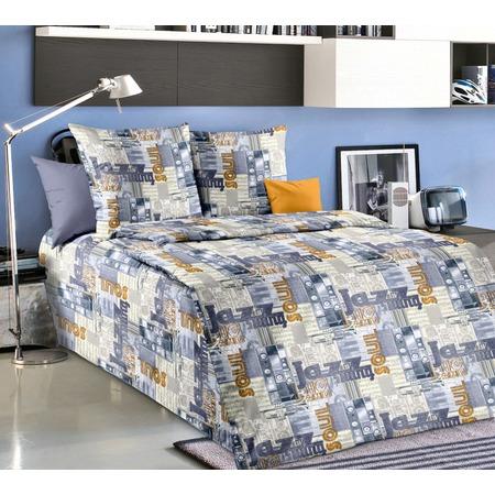 Купить Комплект постельного белья Белиссимо «Джаз 1». 1,5-спальный