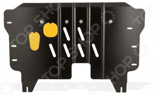 Комплект: защита картера и крепеж NLZ для KIA Ceed, Cerato, Pro Ceed / Hyundai i30, 2012-2014 novline nlz 25 36 020 kia ceed cerato pro ceed huyndai i30 2012 1 4 1 6 2 0 бензин мкпп акпп