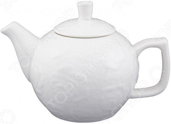 Чайник заварочный Elan Gallery «Белые розы» 860021