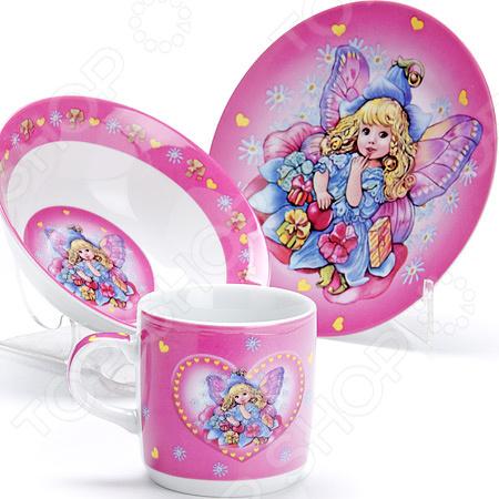 Набор посуды для детей LR-27337«Ангел»