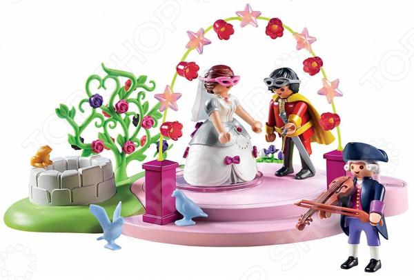Набор игровой Playmobil «Замок Принцессы: Маскарадный бал» barneybuddy barneybuddy игрушки для ванны стикеры замок принцессы