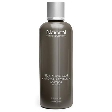 Купить Шампунь для жирных волос Naomi Black Mineral Mud & Dead Sea Minerals