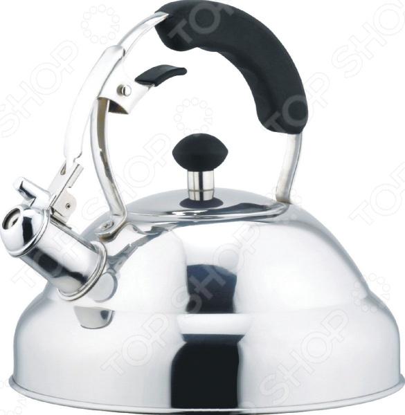 Чайник со свистком Bekker De Luxe BK-S402