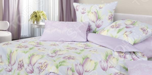 Zakazat.ru: Комплект постельного белья Ecotex «Гармоника. Тюльпаны»