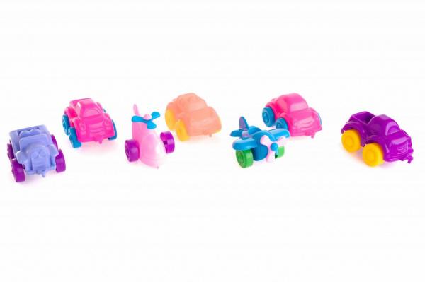 Набор машинок игрушечных Пластмастер «Автопарк» игрушки для детей