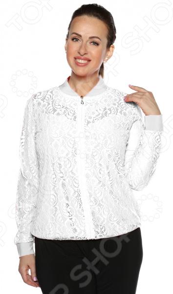Бомбер Pretty Woman «Очарование». Цвет: белый недорго, оригинальная цена