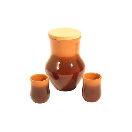 Купить Набор: кувшин и стаканы Вятская керамика