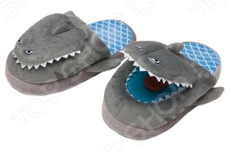 Тапочки-игрушки Silly Slippeez SHARK