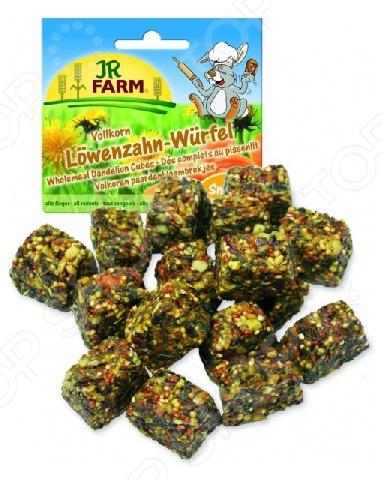 Лакомство для грызунов JR Farm Loewenzahn Wuerfel лакомство для грызунов jr farm печенье из непросеянной муки и фруктов 80 г