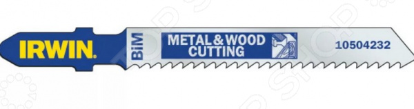 Набор пилок для электролобзика по дереву и металлу Irwin, 5 шт. цена