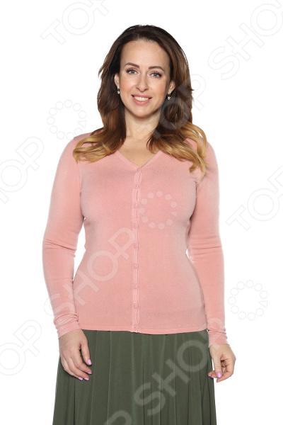 Кардиган Milana Style «Прекрасный вариант». Цвет: розовый кардиган milana style milana style mi038ewvvy52
