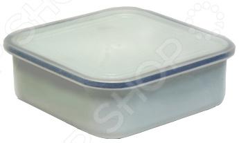 Лоток для холодца с крышкой Эмаль 2507/М блюдо для холодца эмаль с крышкой 1 л