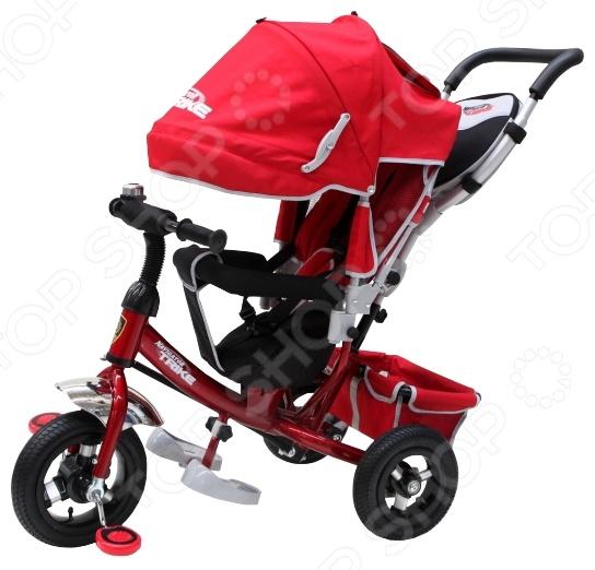 Велосипед трехколесный Navigator с алюминиевыми дисками Lexus Велосипед трехколесный Navigator с алюминиевыми дисками Lexus /Красный/Черный