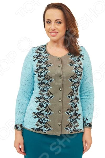 Жакет Milana Style «Алина». Цвет: бирюзовый