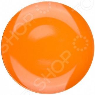 Набор десертных тарелок Biona однотонных. Цвет: оранжевый biona набор столовый марахо
