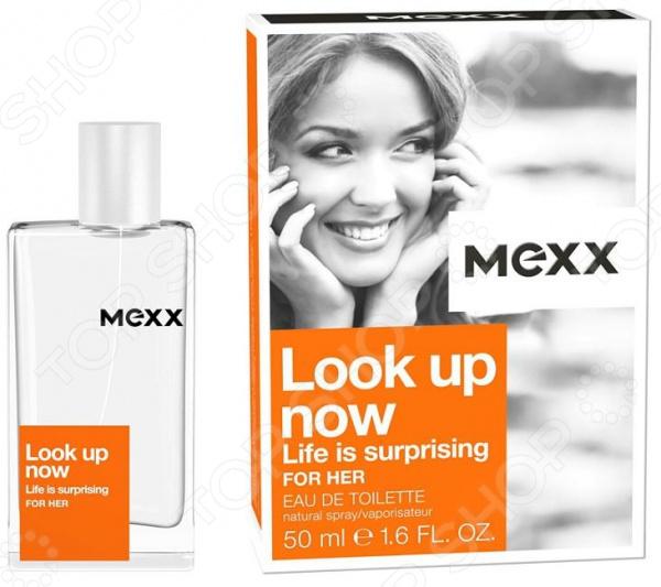 Туалетная вода для женщин MEXX Look Up Now Woman