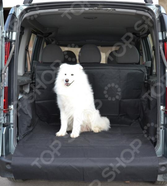 Накидка для перевозки собак в багажнике автомобиля daf 049