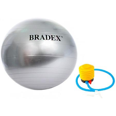 Купить Мяч гимнастический с насосом Bradex «Анти-взрыв»
