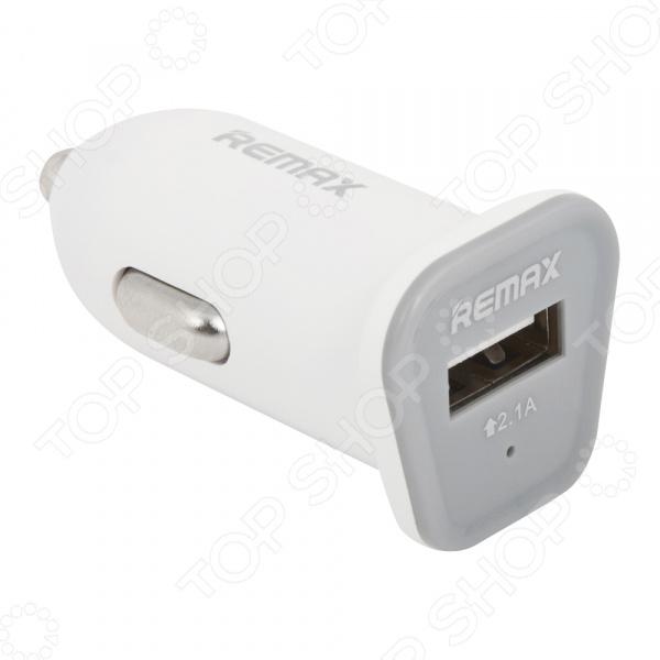 Устройство зарядное автомобильное REMAX RCC101 2,1А USB зарядное устройство wester cb20
