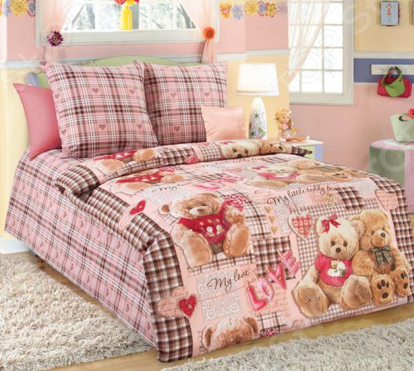 Ясельный комплект постельного белья ТексДизайн «Плюшевые мишки»