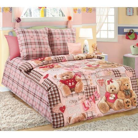 Купить Ясельный комплект постельного белья ТексДизайн «Плюшевые мишки»