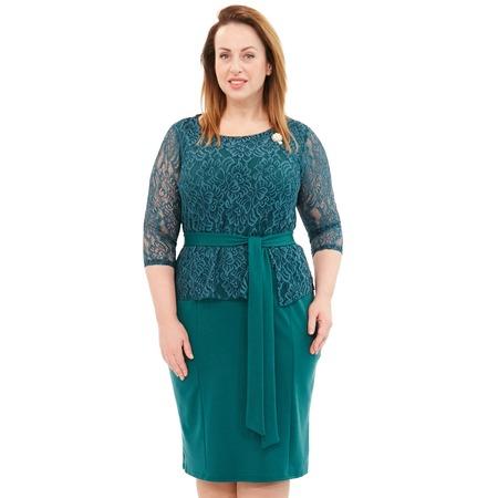 Купить Платье Лауме-Лайн «Царица». Цвет: зеленый
