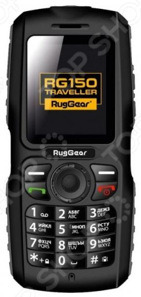 Мобильный телефон защищенный RugGear RG150 Traveller