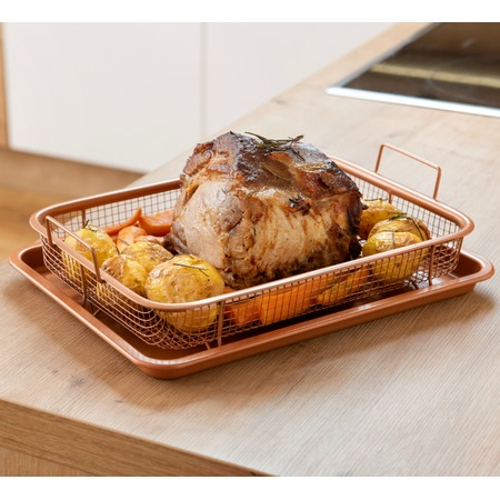 Купить Сетка-корзинка для духовки, фритюра и барбекю Delimano Crisper