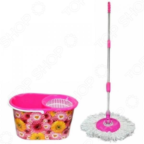 Набор для уборки Violet 0900/197 «Хризантемы»