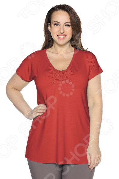 Блуза Матекс «Радость солнцу». Цвет: красный блуза матекс радость солнцу цвет красный