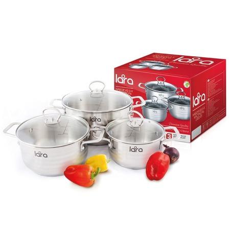 Купить Набор посуды LARA Standart LR02-81
