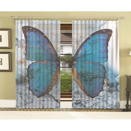 Купить Комплект тюля МарТекс «Мраморная бабочка»