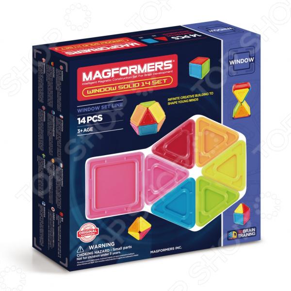 Конструктор магнитный Magformers Window Solid