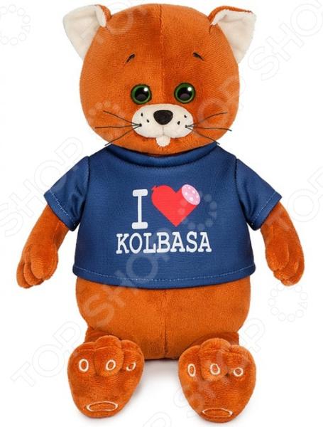 Мягкая игрушка Колбаскин&Мышель «Колбаскин фанат колбасы» колбаскин