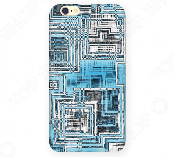 Чехол для iPhone 6 Mitya Veselkov «Микросхема светлая» микросхема risym l297d sop20