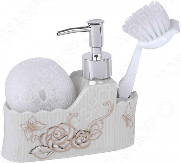 Дозатор для моющего средства Rosenberg RCE-335018 набор для ванной комнаты rosenberg rce 350004 3