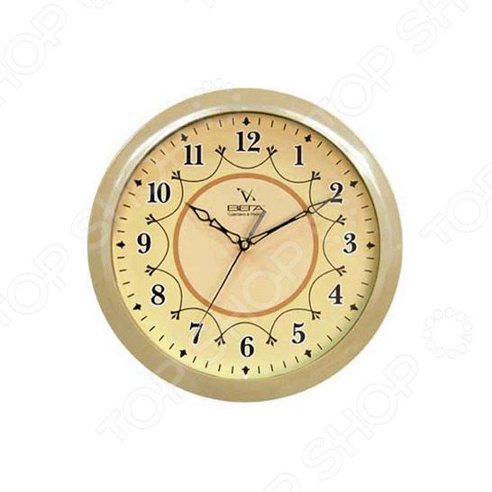 Часы настенные Вега П 1-14/7-12 часы вега п 1 247 7 247 желтые тюльпаны