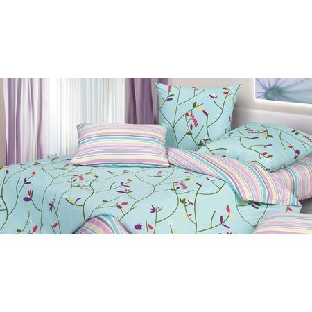 Купить Комплект постельного белья Ecotex «Гармоника. Вербена». 1,5-спальный