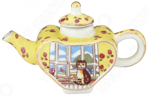 Чайник сувенирный Elan Gallery «Кошка у окошка» Elan Gallery - артикул: 967590