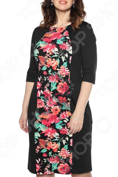 Платье La Via Estelar «Цветочная аллея». Цвет: розовый