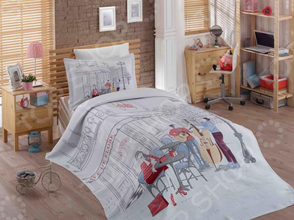 Комплект: покрывало, простыня и 2 наволочки Hobby Marsele для создания комфортной обстановки, а также украшения спальной комнаты. Чтобы сон всегда был комфортным, а пробуждение приятным, мы предлагаем вам этот комплект из белья с приятным на вид цветом и высоким качеством пошива. Белье из сатина с жаккардовым покрывалом, специально придуманное для подростков с учетом эстетически модных и стильных тенденций. Белье из текстиля высокого качества, сделанное по специальной технологии сложного переплетения нескольких видов нитей. Способно хорошо пропускать воздух и впитывать влагу в течении ночи. Также имеет отличные характеристики усадки и практически не мнется. Дизайн белья предусматривает красочные, объемные, реалистичные рисунки, нанесенные на ткань методом реактивной печати. Преимущества:  Белье гипоаллергенно, легко впитывает частички влаги, за счет чего оно хорошо охлаждает, кожа дышит.  Прочная и износостойкая ткань с двойным нитяным плетением.  Мягкая, гладкая и шелковистая поверхность.  Легко стирать и гладить, не беспокоясь о потере формы и цвета.  Красивый принт на внешней стороне.  Перед первым применением комплект постельного белья рекомендуется постирать. Перед этим выверните наизнанку наволочки и пододеяльник. Для сохранения цвета не используйте порошки, которые содержат отбеливатель. Рекомендуемая температура стирки 40 С и ниже, без использования кондиционера или смягчителя воды.
