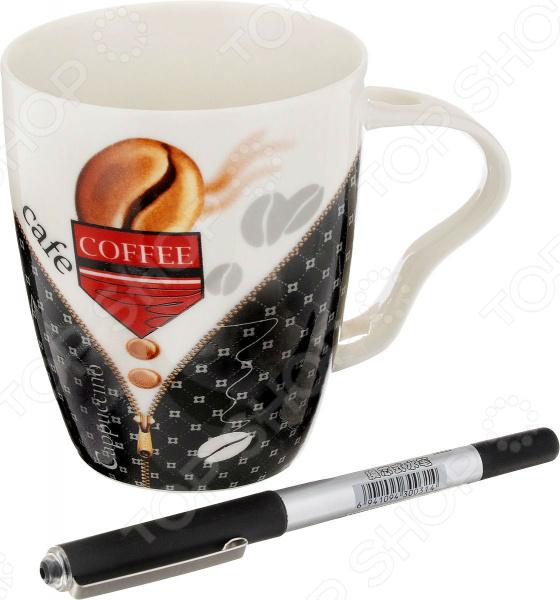 Кружка Patricia «Офис» с ручкой. В ассортименте