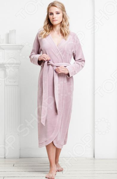 Халат женский Funny Bunny Elegant. Цвет: розовый