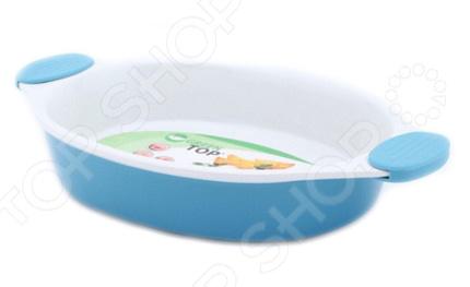 Форма для запекания керамическая GreenTop UN5-012 2 это объемная форма для выпекания пирогов и запекания. Посуда идеально подходит для выпекания различной выпечки, ведь форма предотвращает тесто от вытекания , при этом, предоставляя возможность с легкостью извлечь готовую выпечку и получить на ней красивый рисунок. Жаропрочная керамика абсолютно безопасна и не вступает в реакцию с продуктами, а так же не влияет на запах и вкус готового изделия. Размер формы: 37х22х7 см.