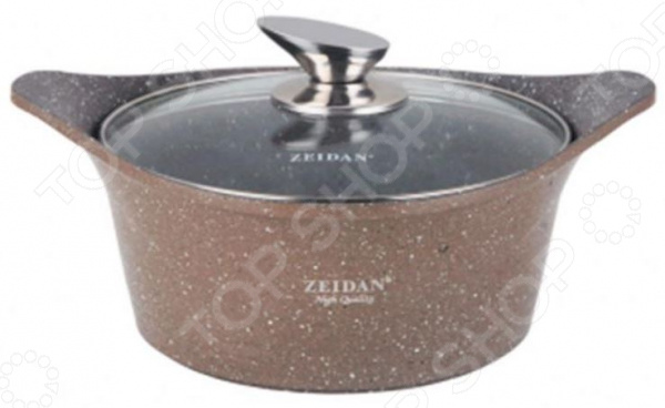 Кастрюля с крышкой Zeidan Z 50267 алюминиевая крышка на митсубиси л200